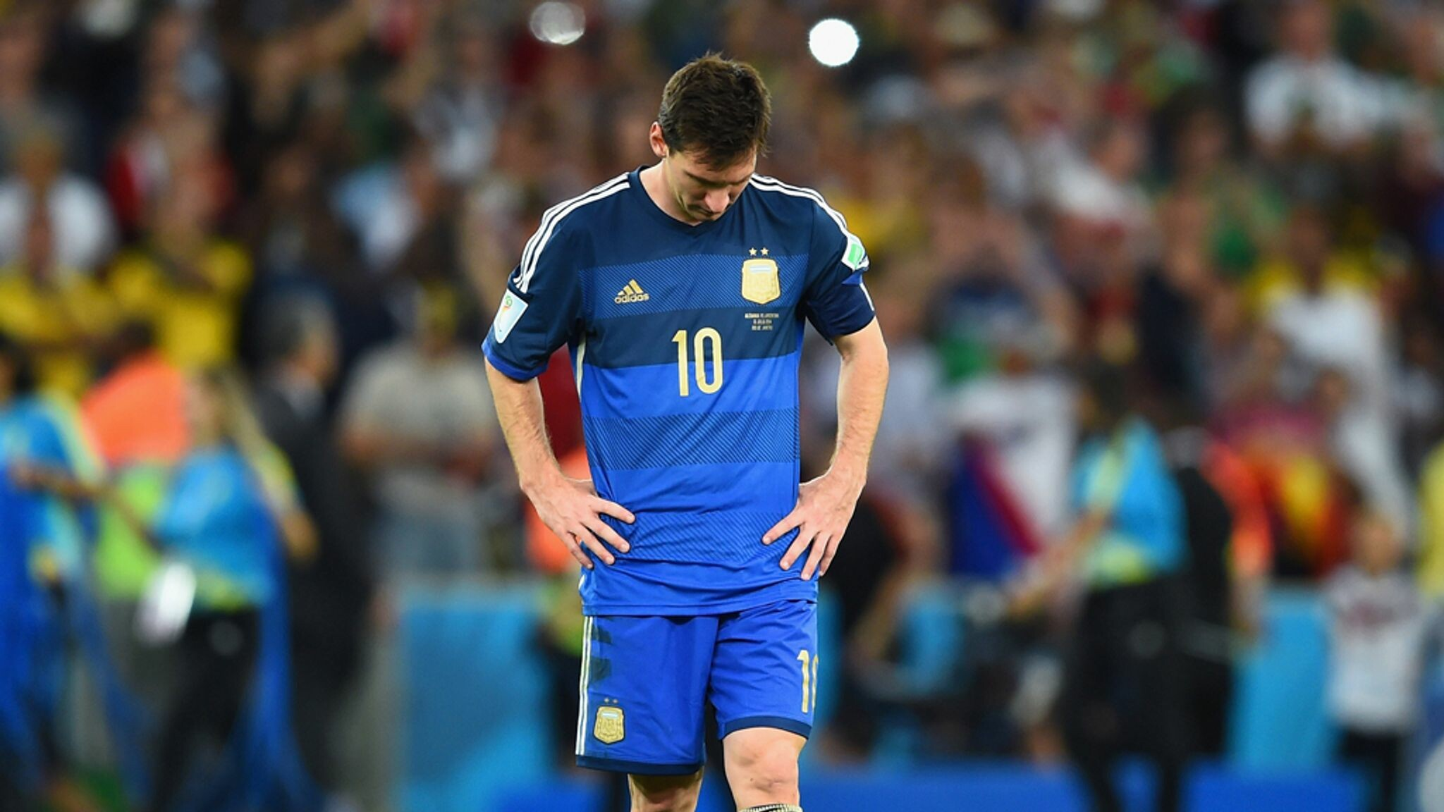 Messi in 2014 World Cup