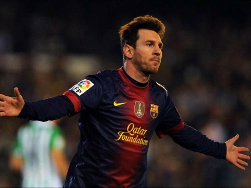 Messi 2012